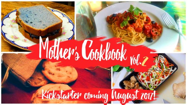 Sample images from the upcoming kickstarter funded cookbook based on the food of the video game EarthBound
