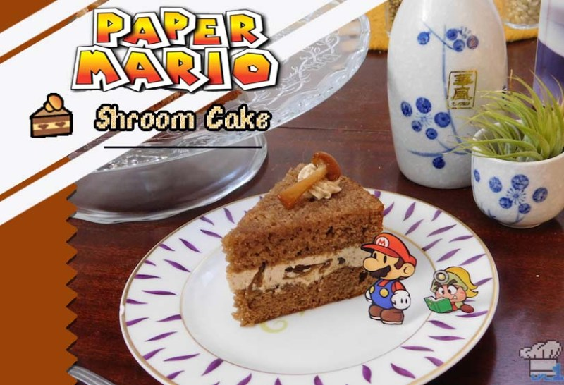 Paper Mario: The Thousand Year Door – Shroom Cake