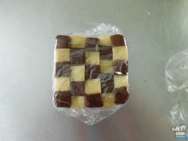 Preview of the completed checkerboard pattern for the Succulent Mattress cookie recipe from the Pikmin 2 video game