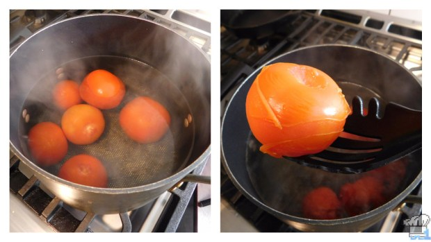 boiling the tomatoes for the lava soup recipe from the legend of zelda: oracle of seasons video game