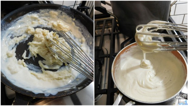 making a bechamel for the stupendous stew recipe from the super mario odyssey video game