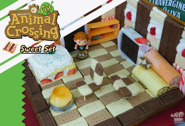 gingerbread version of the sweet set from Animal Crossing