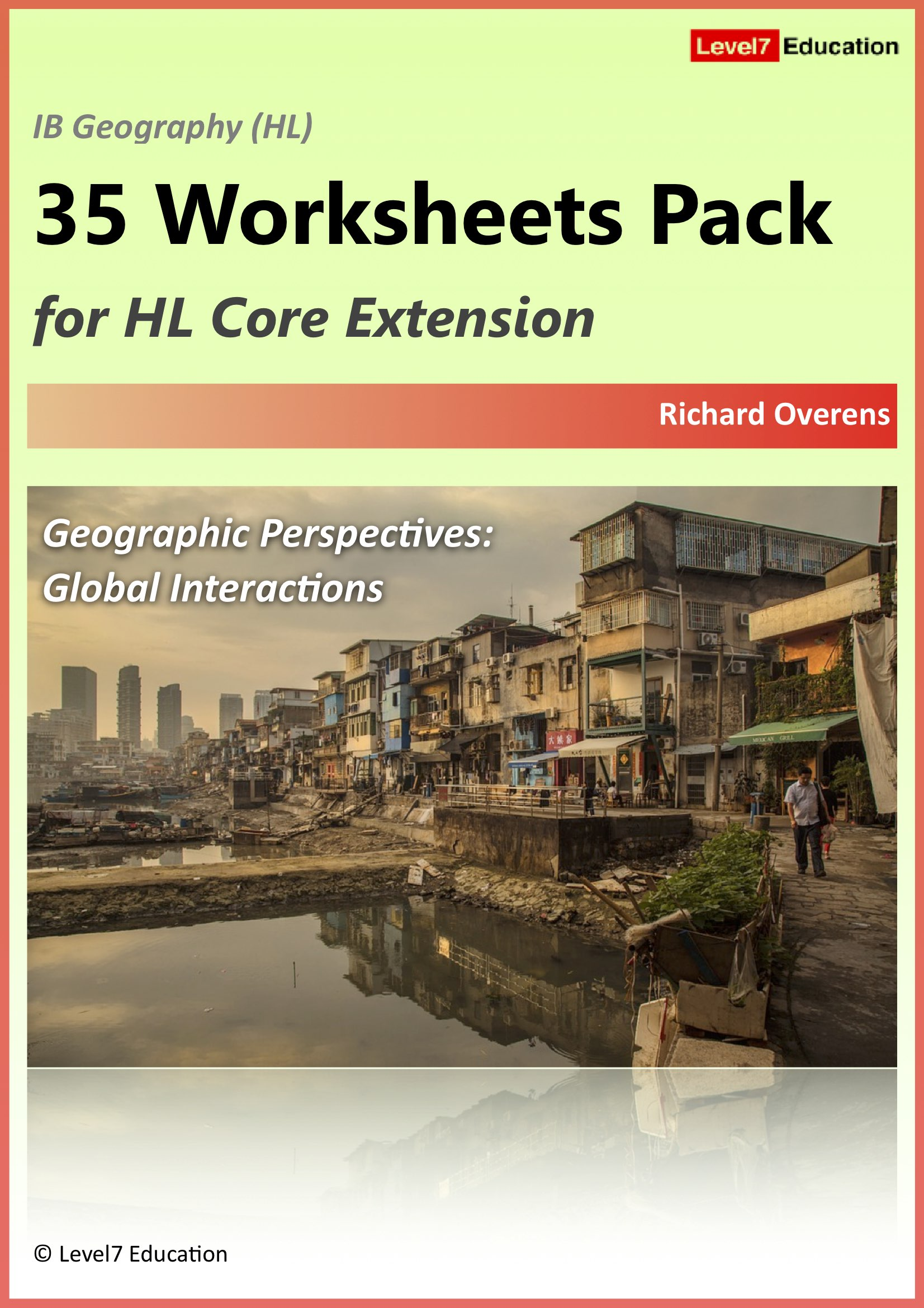 Level7 Education 35 Worksheets Pack for HL Core Extension Coming Soon