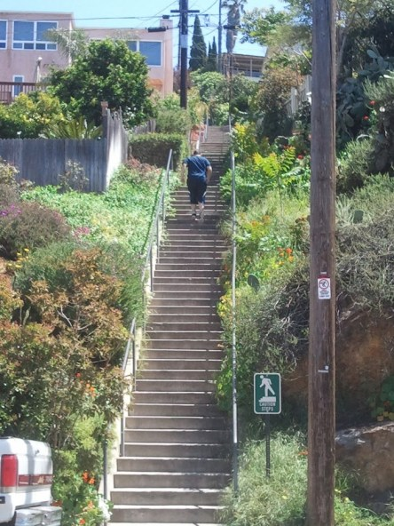 neuromotor exercises on stairs
