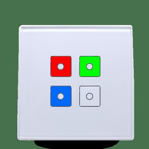 Dörtlü Renk RGBW Dimmer Modül