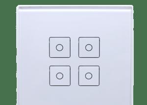 level dortlu dokunmatik buton
