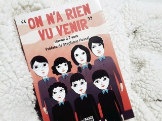 couverture on n'a rien vu venir alice editions