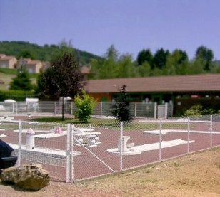Parcours de mini-golf du Verdillé, à côté du snack