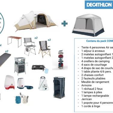 Pack confort 4P