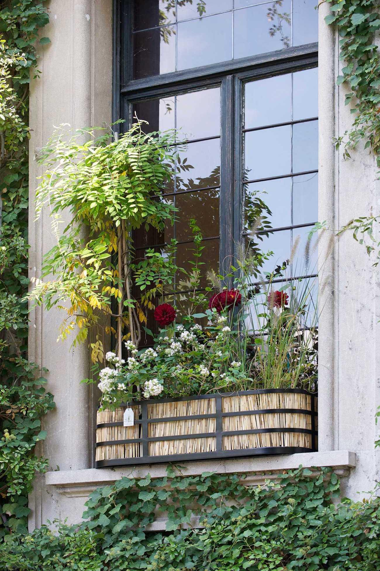 Jardinière Fenêtre Villa Visconti Orticolario. Le Vert à Soi