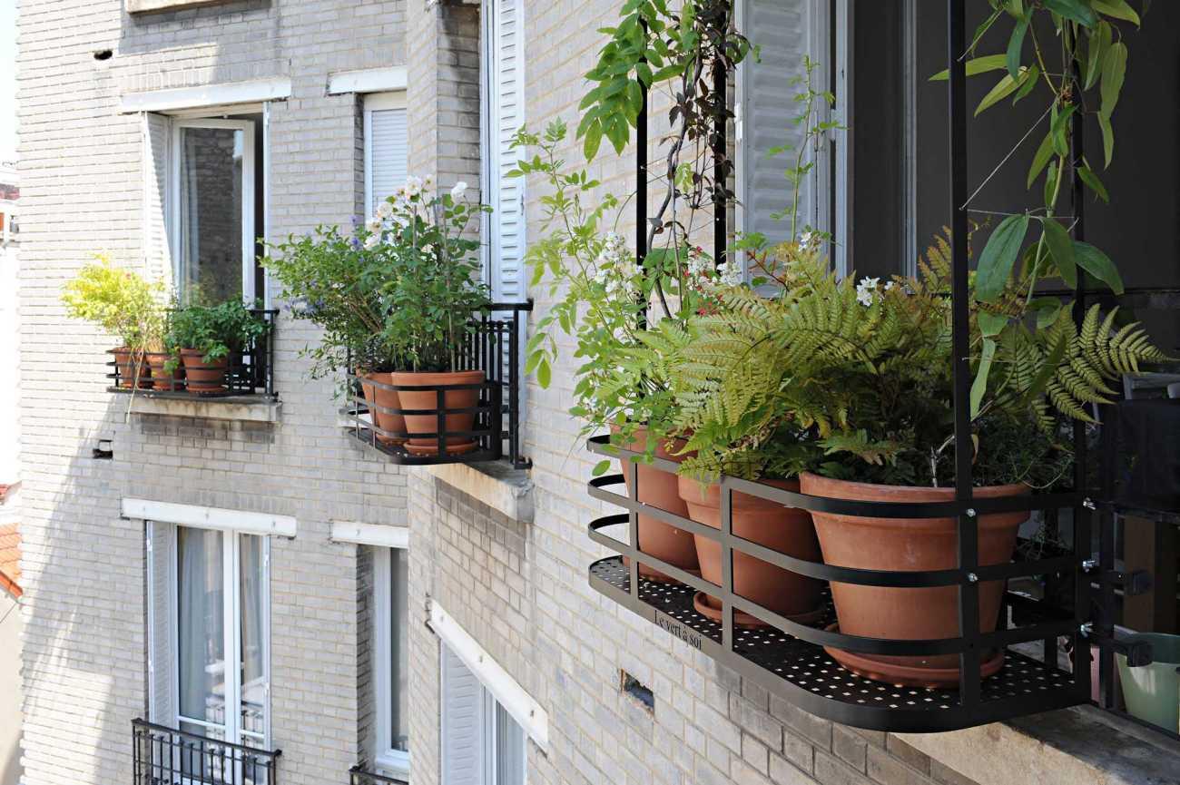 Rue du Général Beuret. Décoration végétale Le Vert à Soi