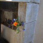 Décoration fleurs chambre d'hôtes