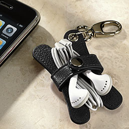 Pocquettes Earbud Holder Key Chain - Earbud Holder