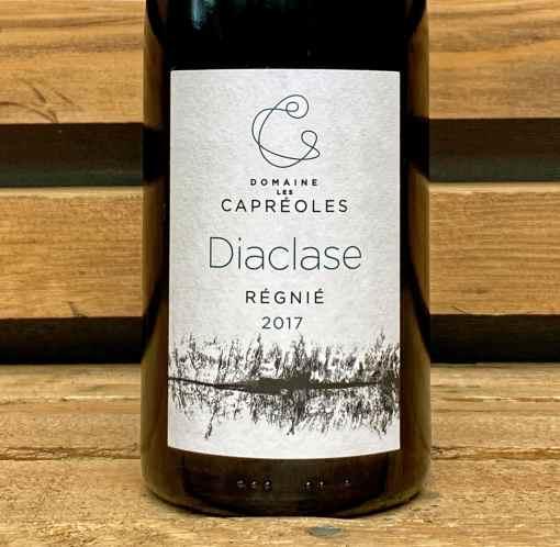 Vin rouge cru du beaujolais Régnié Cuvée Diaclase du domaine des capréoles