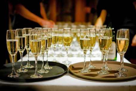 Champagne apéritif ou dessert