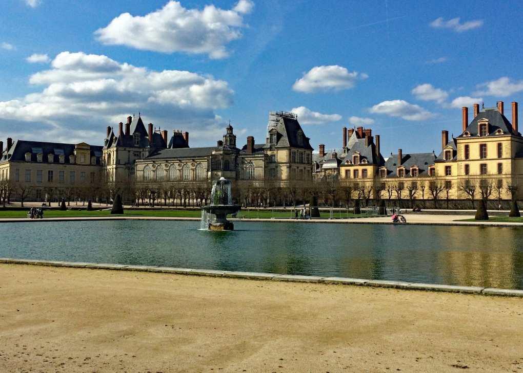 Les jardin du Château de Fontainebleau