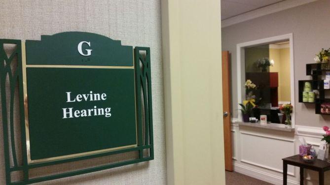 Levine Hearing Office Entrance