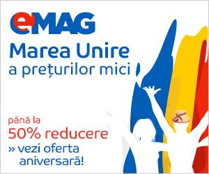 Reduceri la eMAG de 1 Decembrie de Ziua Nationala : Marea Unire a preturilor mici