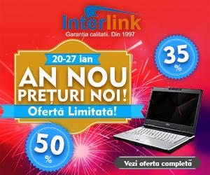 """Campania """"AN NOU, PREȚURI NOI"""" 20-27 Ianuarie la InterLink"""
