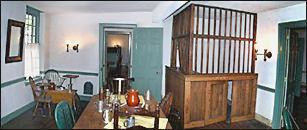 Indian King Tavern News Colonial Cage Bar Restored