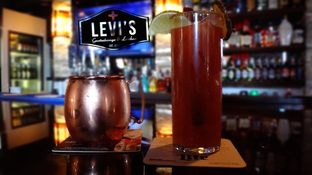 Levis Gastrolounge Low Full service Bar Moscow Mule Rogers AR NWA