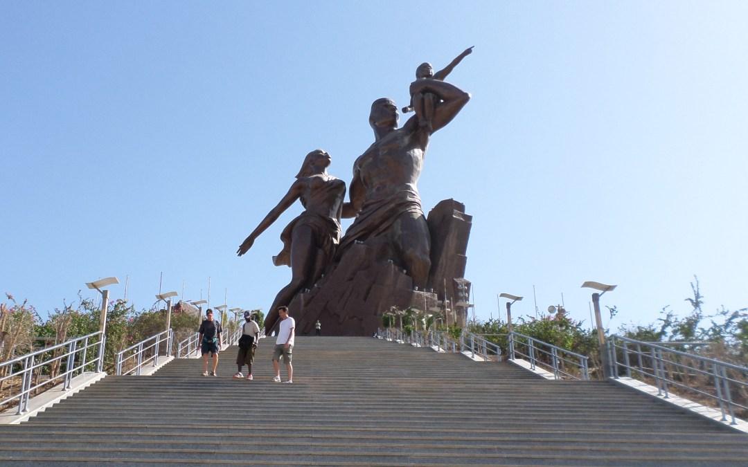 Dakar : Monument de la Renaissance Africaine