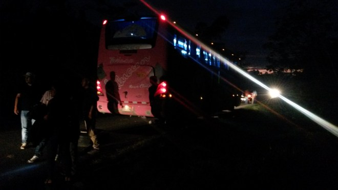 Bus de nuit - Pérou