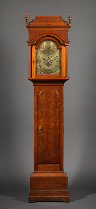 QUEEN ANNE TALL CASE CLOCK