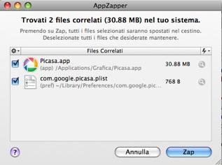 Picasa AppZapper