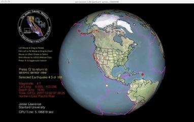 QCN World Map