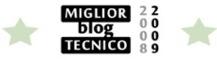 Miglior Blog Tecnico 2008-2009