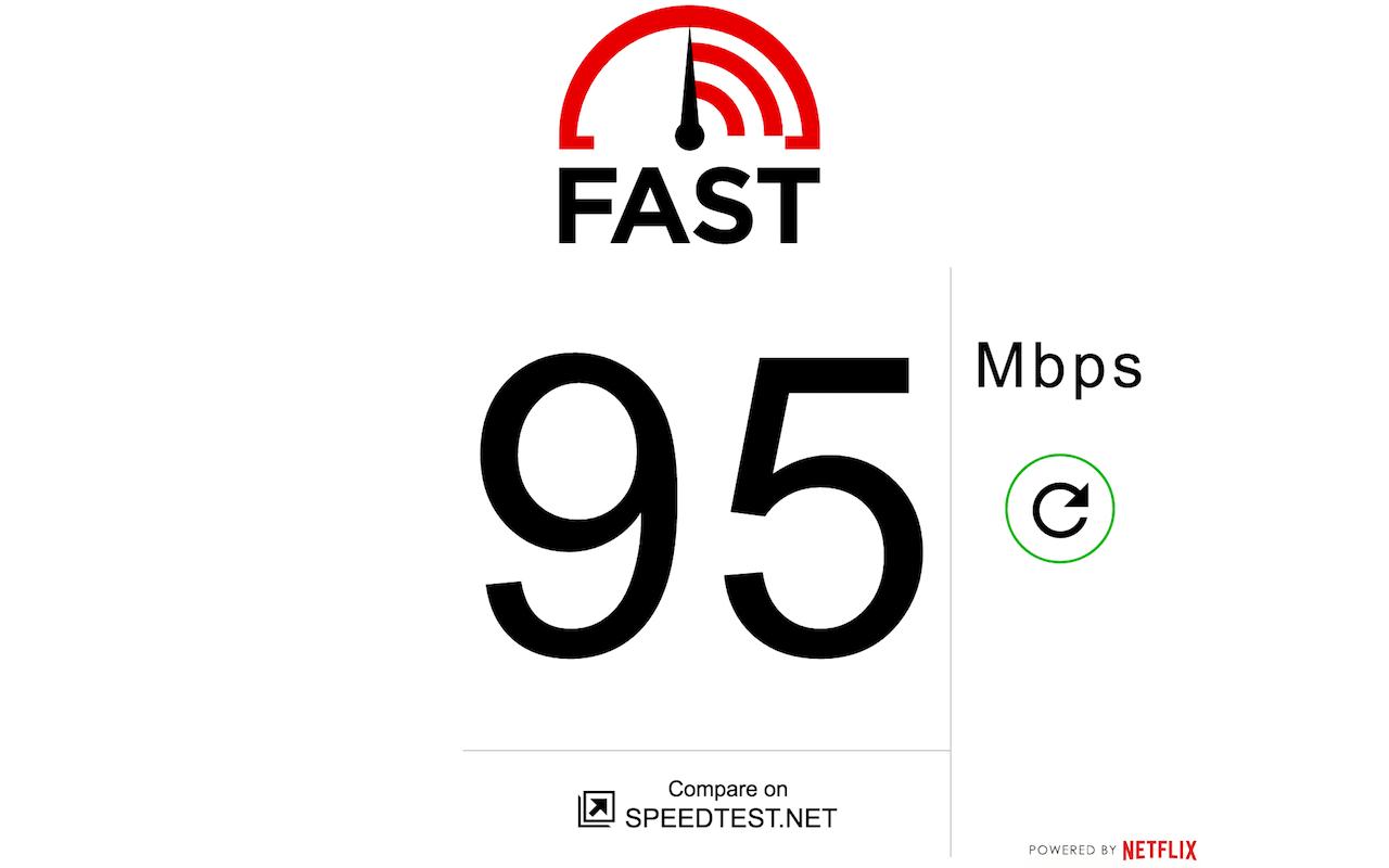 Fast.com - Speed Test by Netflix