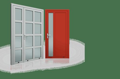 PLUS LINE ALUMINIUM EXTERNAL DOORS | LEWANDOWSKI