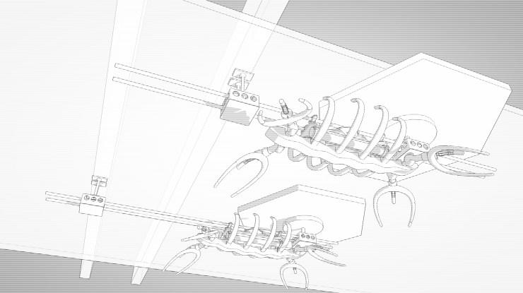 Plesiosaur, mounting studies (2011)