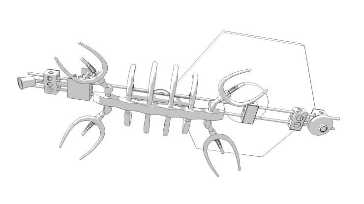 Plesiosaur, v7 concept (2011)