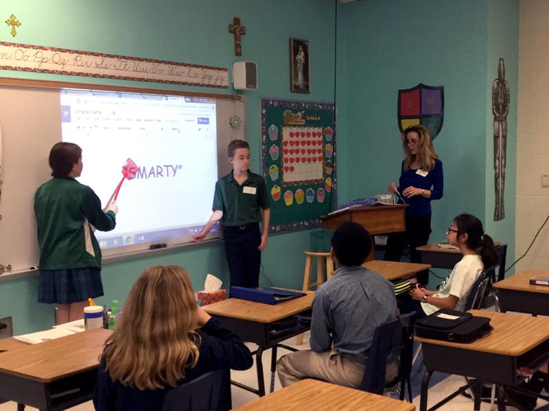 Shelby Hamilton, St. Mark Catholic School
