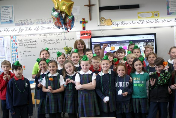 Laurie Huger, Our Lady of Lourdes Catholic School, Raleigh