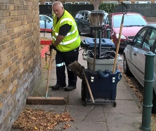 Environmental Services sweeping
