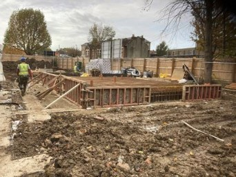 Groundworks at Kenton Court