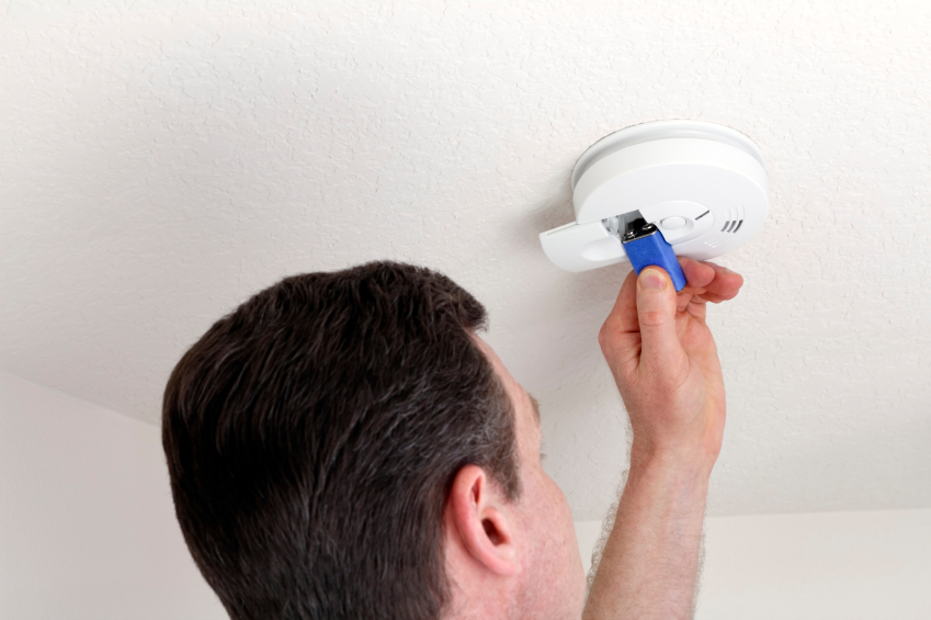 test your smoke alarm and change battery