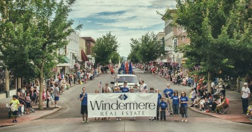 Windermere Centralia posed for this special picture to mark this historic moment. Photo credit: Gabriel Michael Photography.
