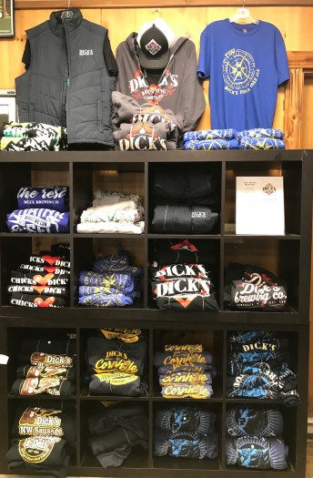 New shirts and other merchandise will be introduced during the 35-year-anniversary celebration at Northwest Sausage & Deli. Photo courtesy: Nancy Keaton.