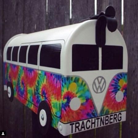 Tie Dye Bus Box