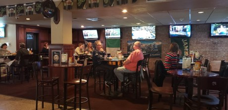 In addition to the daily lunch specials, O'Blarney's also has monthly specials with an appetizer, an entrée, and dessert for lunch or dinner. Photo credit: Krysta Carper.