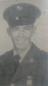 Pennington in the army. Photo courtesy: Randy Pennington.