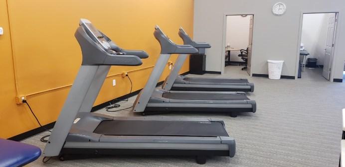 Treadmills at Freeborn Wellness