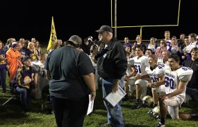 """""""It's fun watching the growth and development of these kids and coaching staff,"""" Bob says. """"Also, when the communities say, 'lock the doors - we're going to the game."""" Photo courtesy: Bob Dow."""