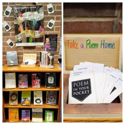Poetry Month is a major event at Centralia Library. Photo courtesy: Centralia Timberland Library.