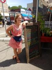 Mokey of Coffee Creek Community Gardens