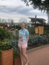 Epcot is Daisy's favorite of the theme parks at Walt Disney World. Photo credit: Daisy Bower.